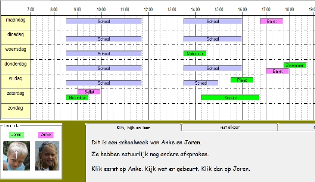 klokvast+ thema s a weekplanner 1 digitale weekplanner interpreteren 1 ...